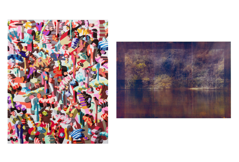 'Layers'  Two-artist show by Soichi Yamaguchi and Masahiro Masuda
